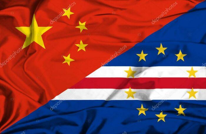 Bandeira Cabo Verde China
